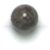 Semi-Precious 6mm Round Brown Agate